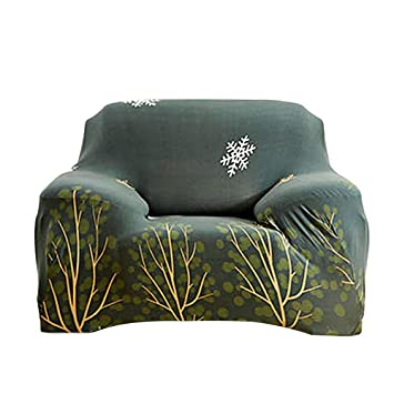 AOLVO Fundas elásticas para sofá, Polipiel de 89 cm a 139,7 ...