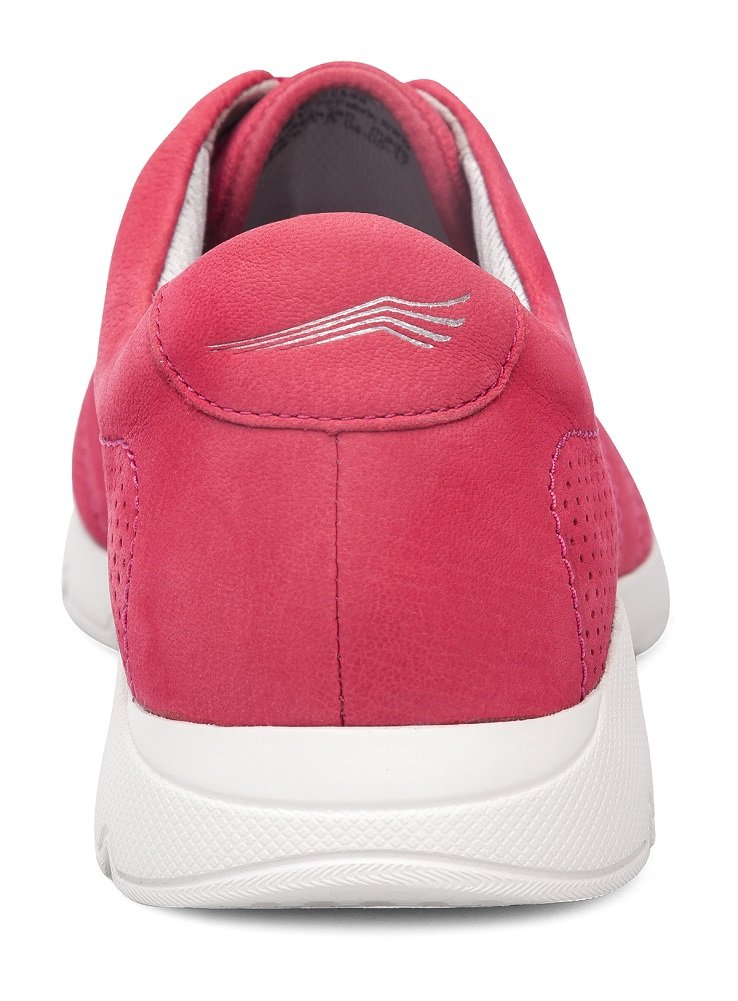 Dansko Alberta Collection Women's Alissa Fashion Sneaker B072WHW38T 41 M EU|Raspberry Milled Nubuck