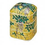 Jpanese traditional ceramic Kutani ware. Oju 3 rooms. Yoshidaya flower and bird. With paper box. ktn-K5-0406