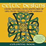 Celtic Designs Coloring Book Tattoos Knots Tree Of Life