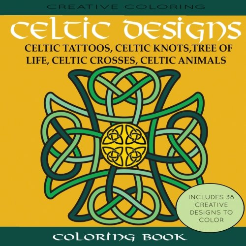 Celtic Designs Coloring Book Tattoos product image