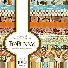"BoBunny Single-Sided Paper Pad 6""X6"" 36/Pkg-Take A Hike, 12 Designs/3 Each"