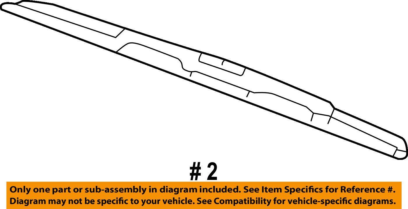 General Motors 15757008, Windshield Wiper Blade by General Motors (Image #2)