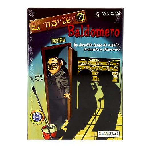 Zacatrus!-El Portero Baldomero Juego de Mesa, (ZAC024): Amazon.es ...