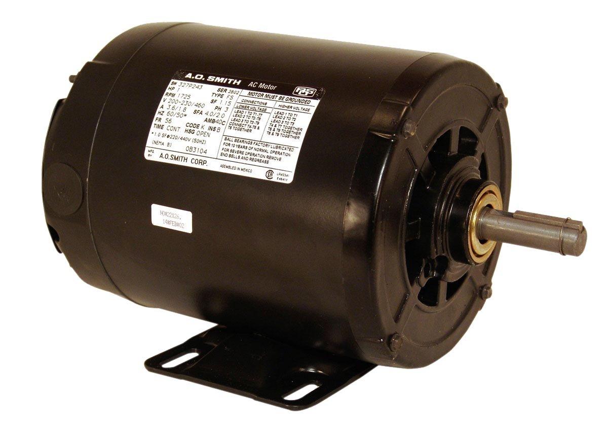 Century OB3154 Three Phase ODP Motor