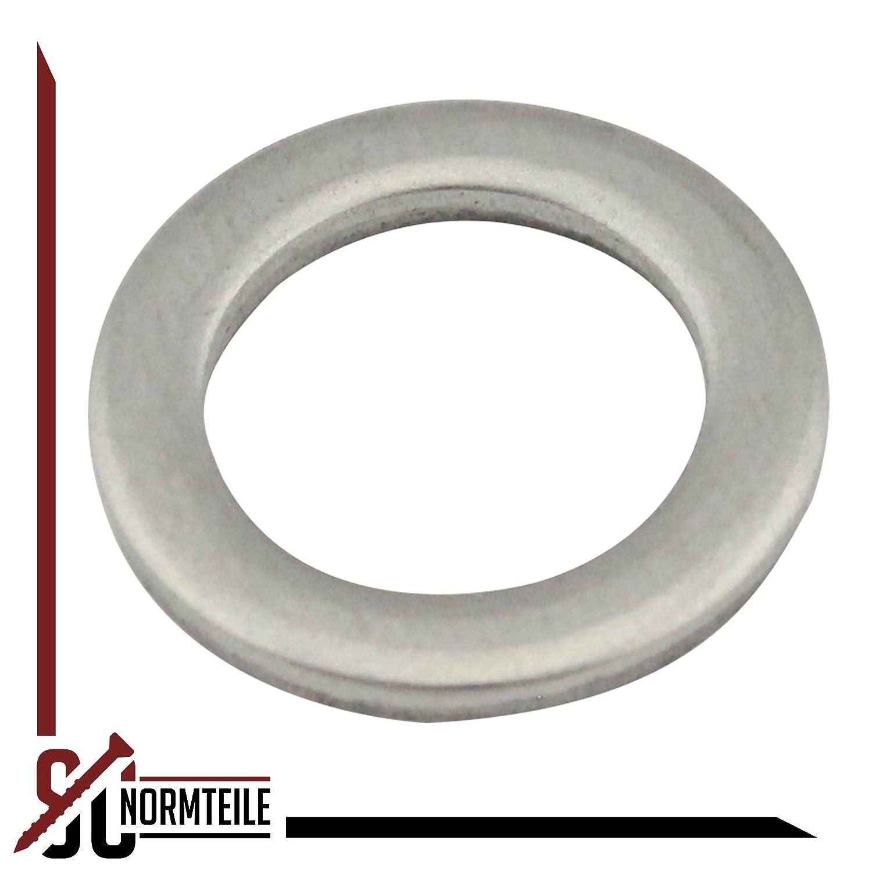 V2A 10 St/ück M5 DIN 433 5,3 mm - SC433 Edelstahl A2 - - Beilagscheiben // Scheiben Unterlegscheiben f/ür Zylinderschrauben SC-Normteile/®