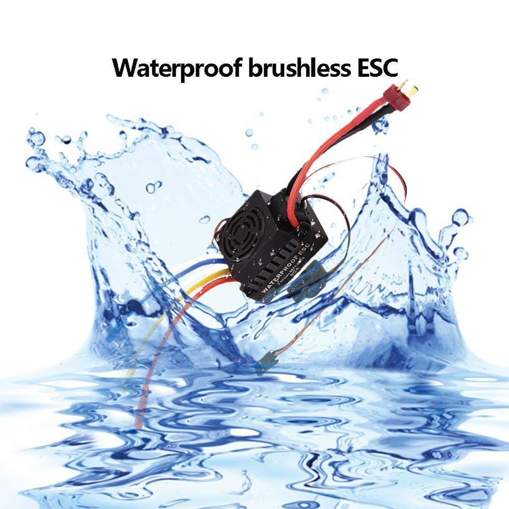 Foonee Waterproof 60A contr/ôleur brushless ESC 5.5V 3A Bec /électronique pour Bateau de Voiture 1//10 RC