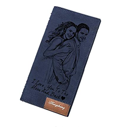 Carteras personalizadas de la foto de las mujeres Titular de la tarjeta de crédito de señora