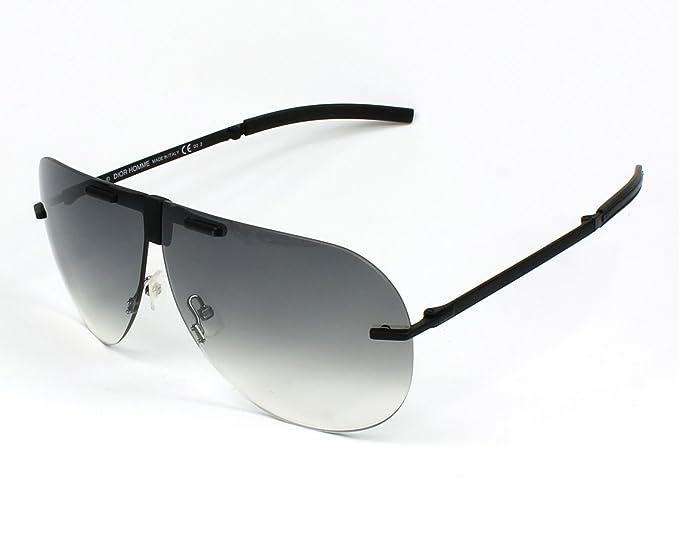 930f3893540d02 Christian Dior 0171 S Des lunettes de soleil Noir 003 Homme  Amazon ...