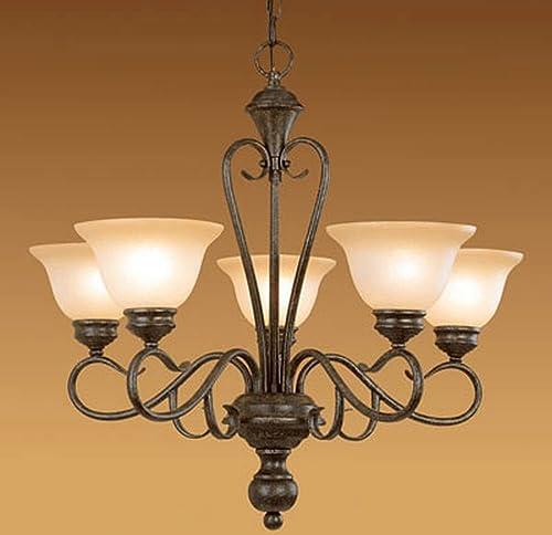 Millennium Lighting, 5 Light Devonshire Chandelier