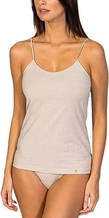 ZD ZERO DEFECTS Camiseta Interior de Mujer de Tirantes - Hilo de Soja Colores y Tallas Disponibles (de la 38 a la 46): Amazon.es: Ropa y accesorios