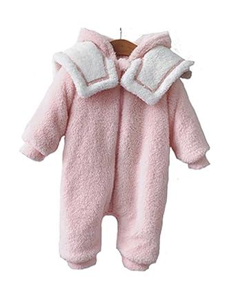 4e90dc6fbd817 H.B.YE 3D Pyjama Ensemble de Pyjama Dors Bien Velours Coton Enfant Bébé  Filles Garçons Combinaison