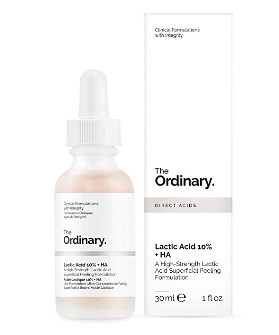 Amazon.com: The Ordinary Lactic Acid 10% + Ha 30ml: Beauty