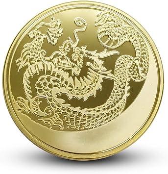 Totem,Moneda Conmemorativa,Dragón Del Zodiaco,Rusia,Buena Suerte ...