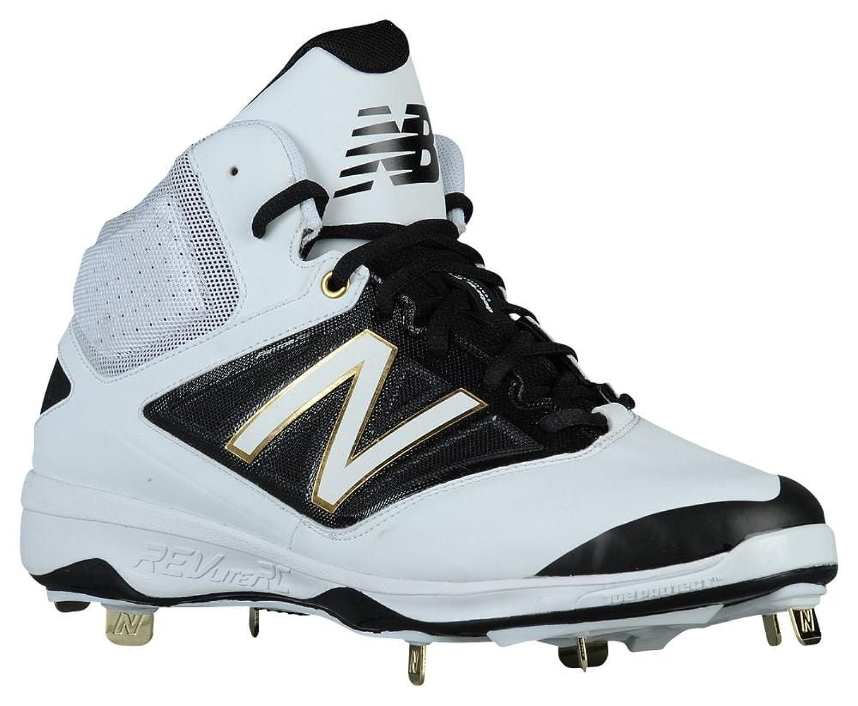 [ニューバランス] New Balance 4040v3 Metal Mid メンズ ベースボール White/Black US10.0 [並行輸入品] B072J4NTNY