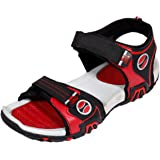 IndiWeaves Mens Red Super Comfortable Casual Sandal-Size-6