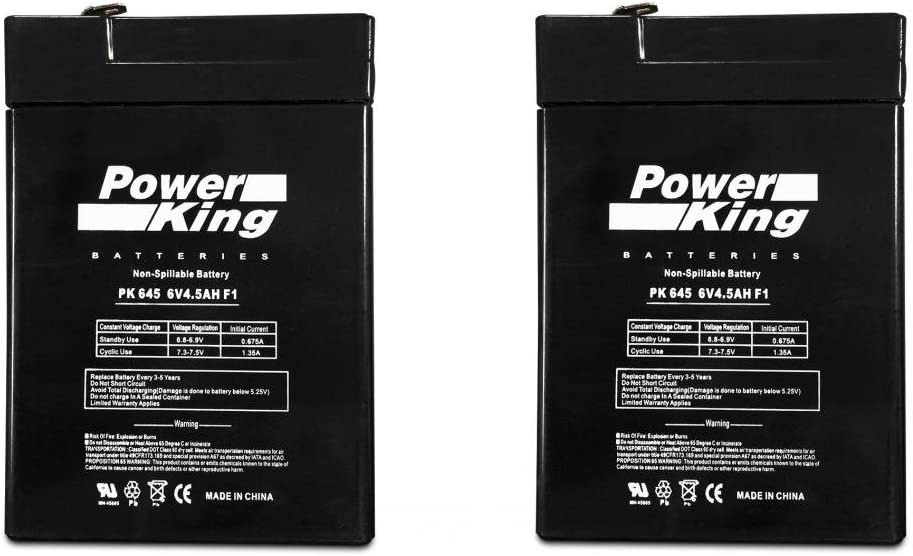 Replacement Beiter DC Power EXP645 6 Volt 4.5 Amp Rechargeable Battery