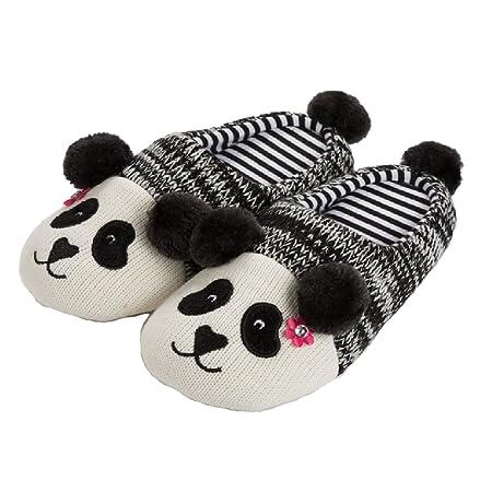 TOFERN Family Parent-Child Cute Cartoon Panda Knit Winter Warm Outdoor...