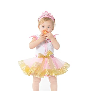 Youtumall My 1st Birthday Cotton T Shirt With Tutu Dress Baby Girls Outfit