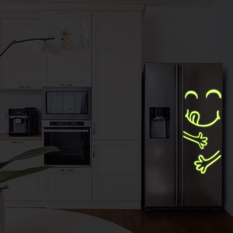 Decords Resplandor en la Cocina Oscura Nevera Puerta de Vinilo ...