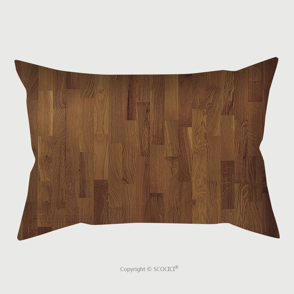 Custom Satin Pillowcase Protector High Resolution Wooden Floor Texture 117163126 Pillow Case Covers Decorative by chaoran