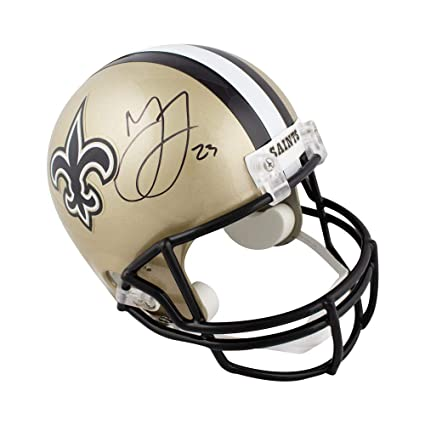 Image Unavailable. Image not available for. Color  Marshon Lattimore  Autographed New Orleans Saints Full-Size Football ... 2b070ad35