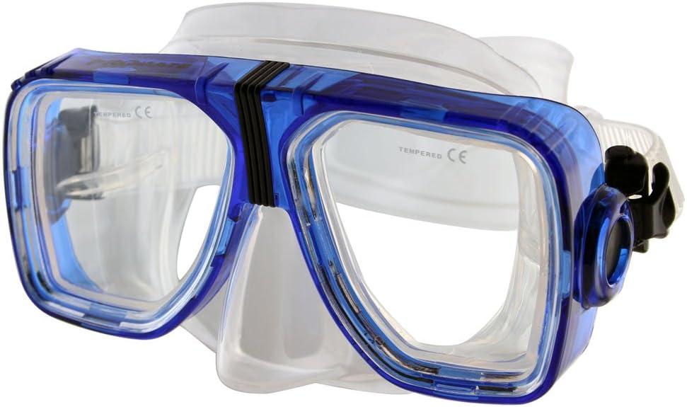 Promate Optique Corrective Masque de plongée avec Tuba Lunettes
