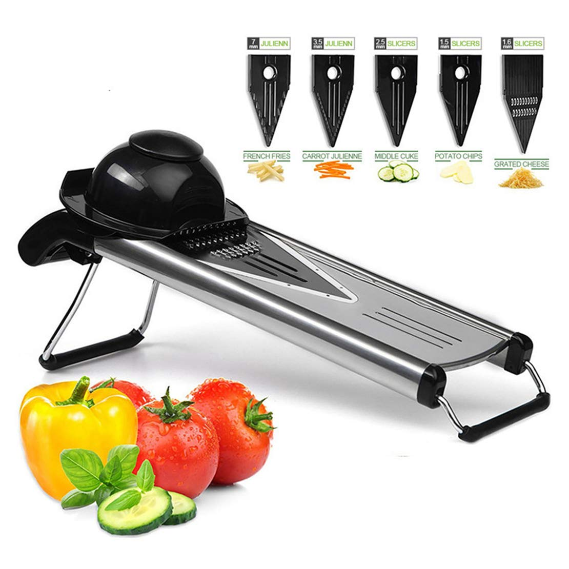 Cool furniture Mandala Slicer Vegetable Cutting Machine with Stainless Steel Blade Manual Potato Peeler Carrot Cheese Grater Dicing Machine Kitchen Tool by Cool furniture