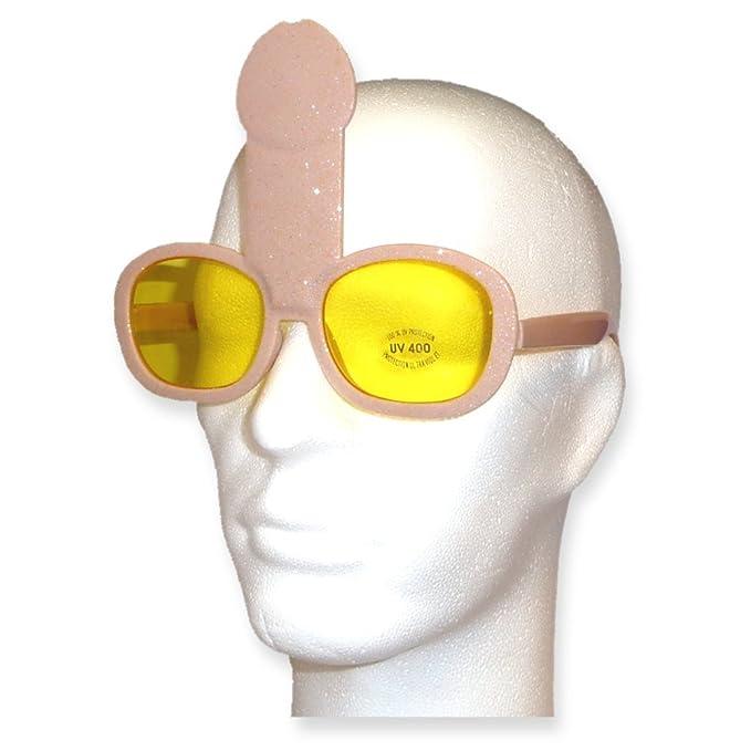 Gag de gafas de sol Glitter de pene: Amazon.es: Ropa y ...