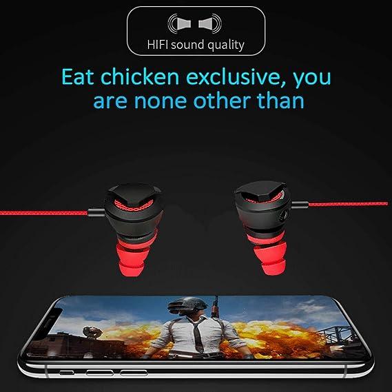 SamMoSon 2019 Auriculares Bluetooth Inalambricos Estereo Bluetooth,Auricular De Alta Fidelidad para El Juego De La Competencia Auriculares Estéreo Super ...