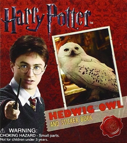 Harry Potter Hedwig Owl Kit and Sticker Book (Running Press Miniature Edition) (October 12, 2010) Paperback
