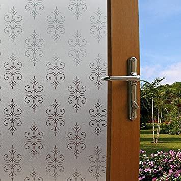 Amazoncom Bloss Window Film Vinyl Window Decals Privacy - Window decals for home privacy