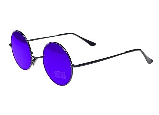 Gafas de sol redondas estilo John Lennon, diseño años 50, marca Morefaz