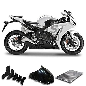 9 fastmoto embellecedores para Honda 08 09 10 11 CBR1000RR 2008 2009 2010 2011 Cbr1000 RR carenado Kit ABS Inyección Set Sportbike Cowls paneles (blanco) ...