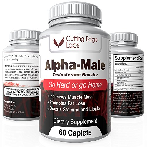Alpha Male Natural Testosterone Hypertrophy Strength product image