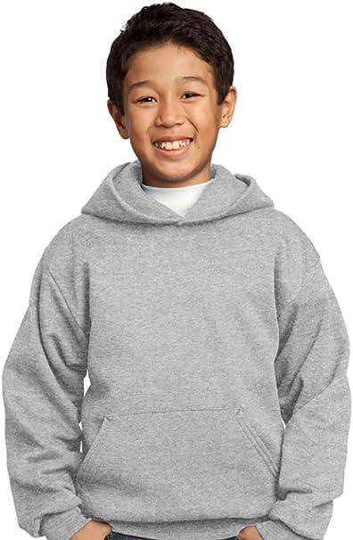 Port /& Company Youth Crewneck Sweatshirt XL Jet Black