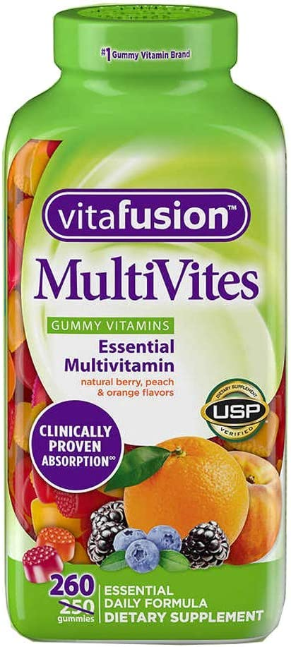 Vitafusion MultiVites Gummy Vitamins, 260ct