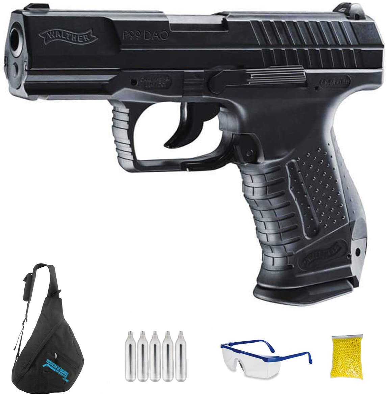 Walther P99 DAO M12 | Pistola de Airsoft Calibre 6mm (Arma Aire Suave de Bolas de plástico o PVC). Sistema: CO2 <3,5J