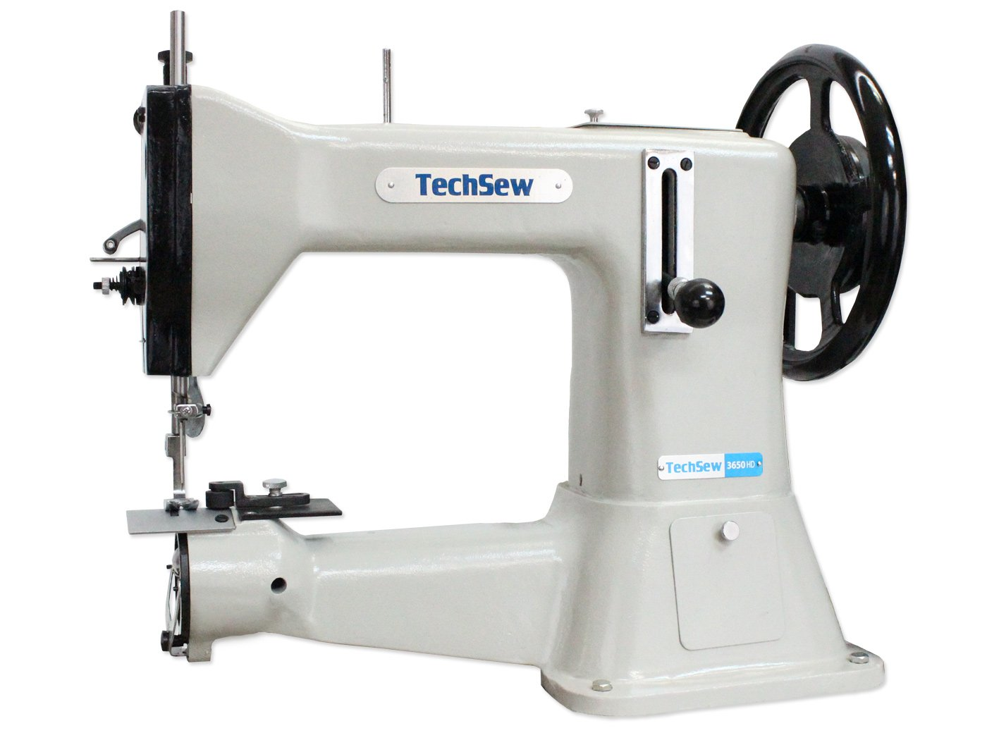 TechSew 3650HD Heavy Duty Leather Industrial Sewing Machine with Assembled Table /& Servo Motor