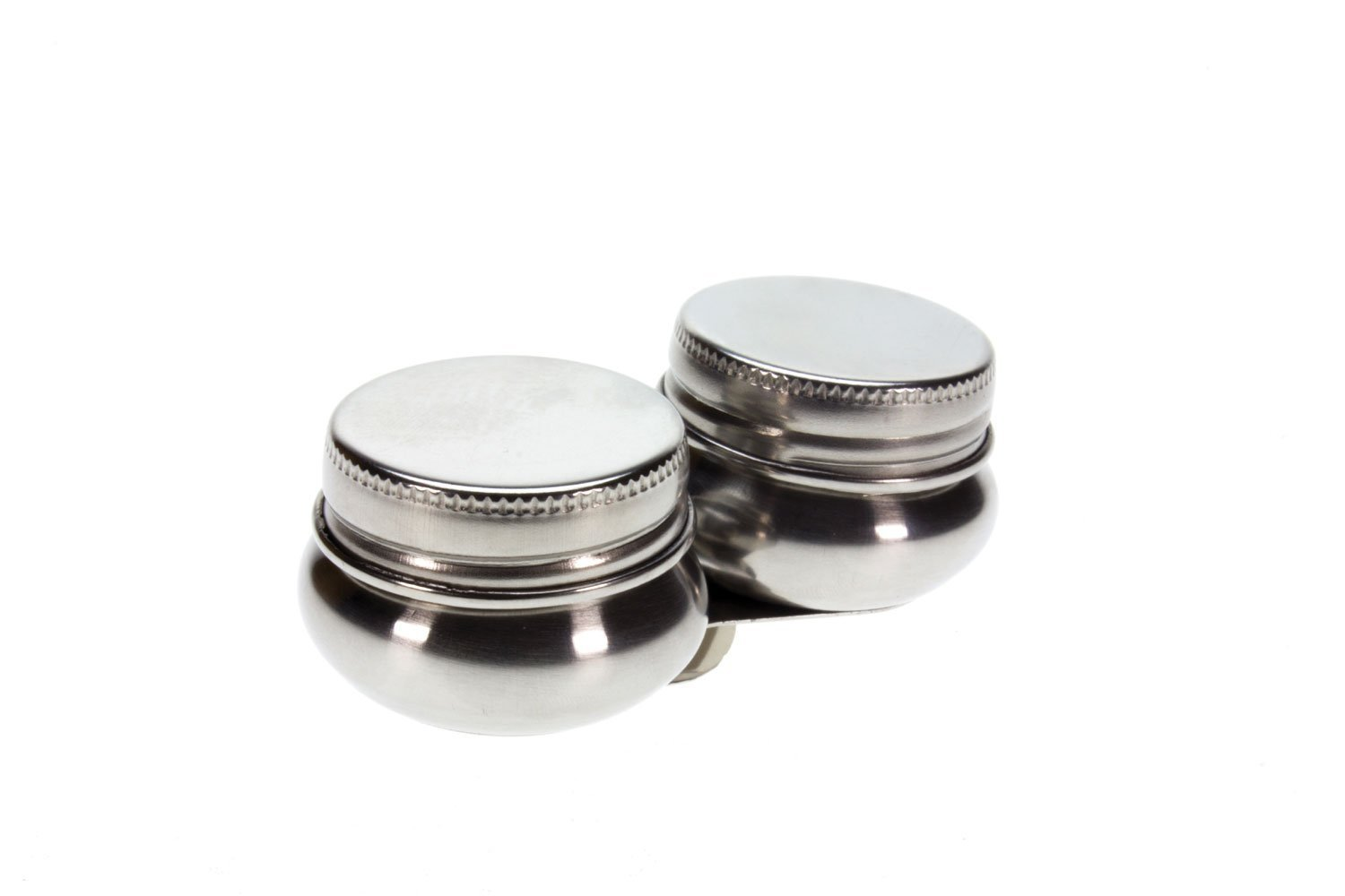 Artists Stainless Steel Double Dipper with Lid for Oil Painting The Art Shop Skipton