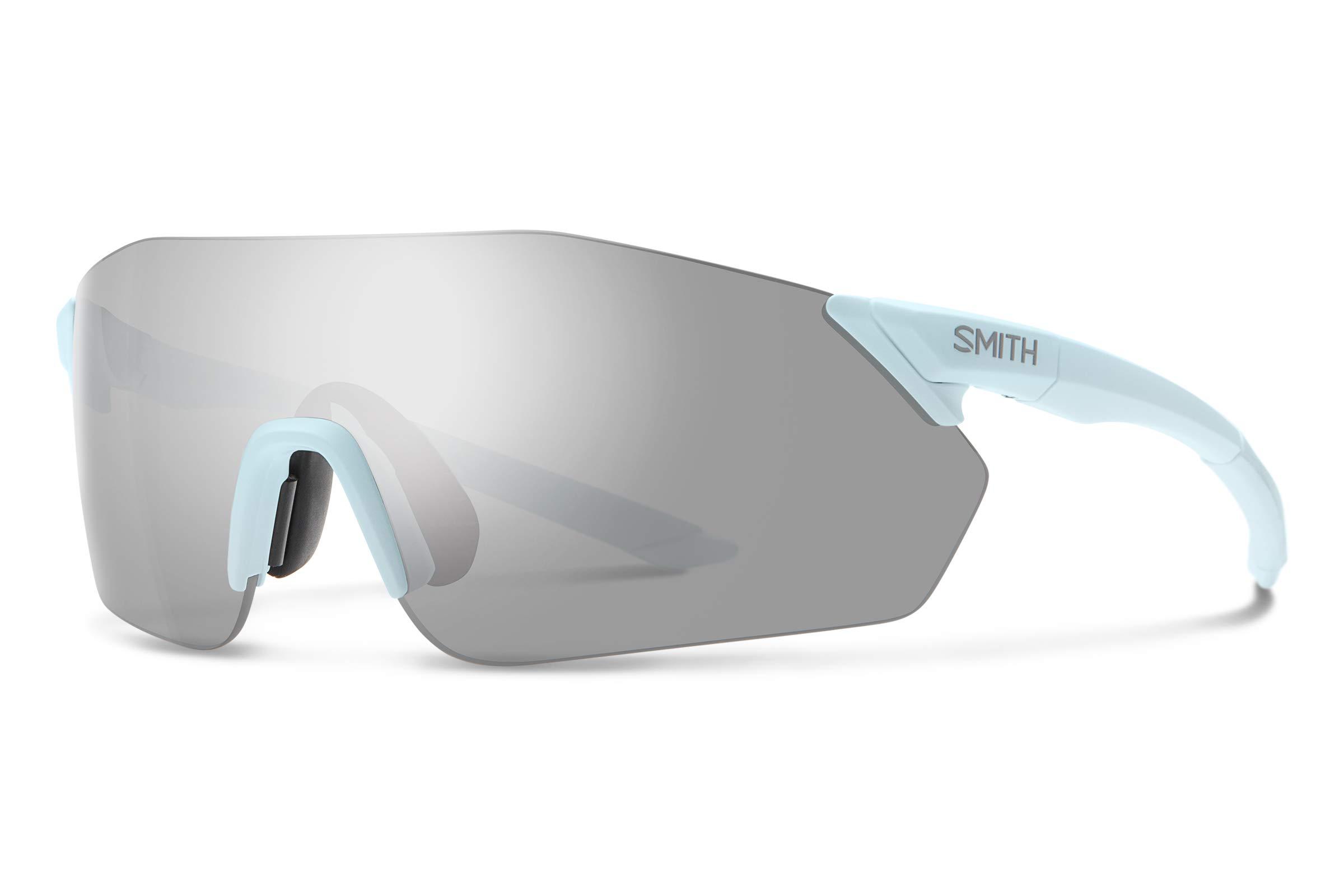 Smith Reverb Chromapop Sunglasses, Powder Blue, Chromapop Platinum/Contrast Rose