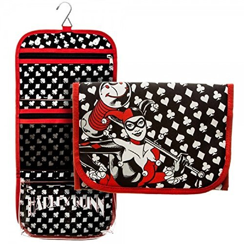 Harley Quinn Trifold Cosmetic Bag