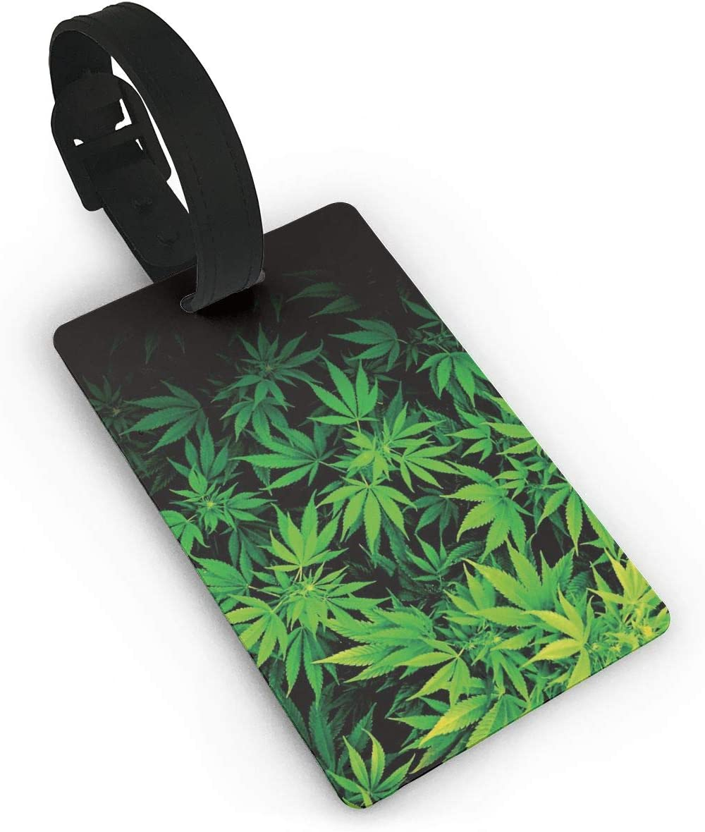 Colorful Cannabis Luggage Straps Suitcase Belts Travel Accessories Bag Straps