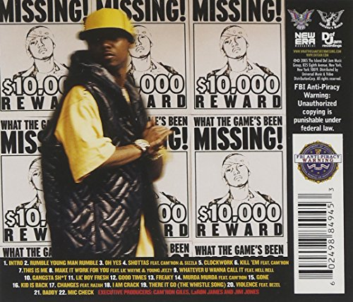 download juelz santana what the game's been missing