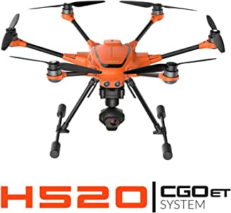 Yuneec H520 + CGOET System   H520 airframe, CGOET 3-axis Gimbal Camera, ST16S, Filter Ring, Two 520 Battery, Lanyard, Charging Cube
