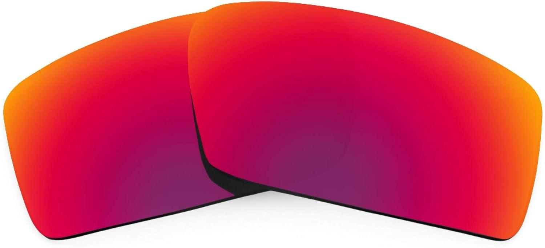 Revant Verres de Rechange pour Oakley Twitch - Compatibles avec les Lunettes de Soleil Oakley Twitch Soleil de Minuit Mirrorshield - Polarisés