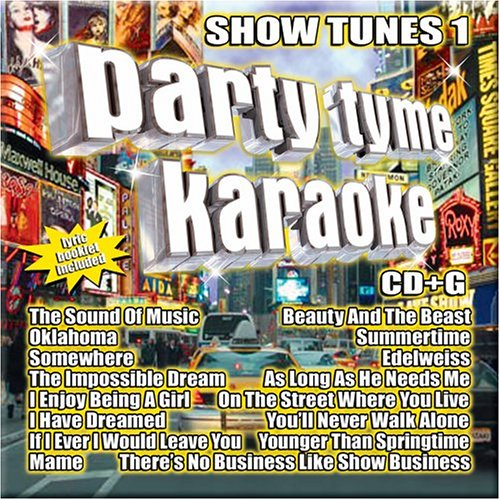 How to buy the best karaoke cds show tunes?