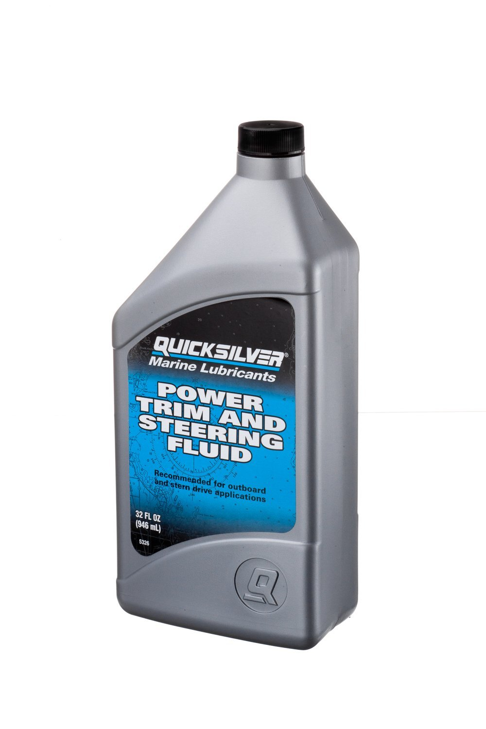 Quicksilver 858075Q01 Power Trim and Steering Fluid - 32 Ounce Bottle