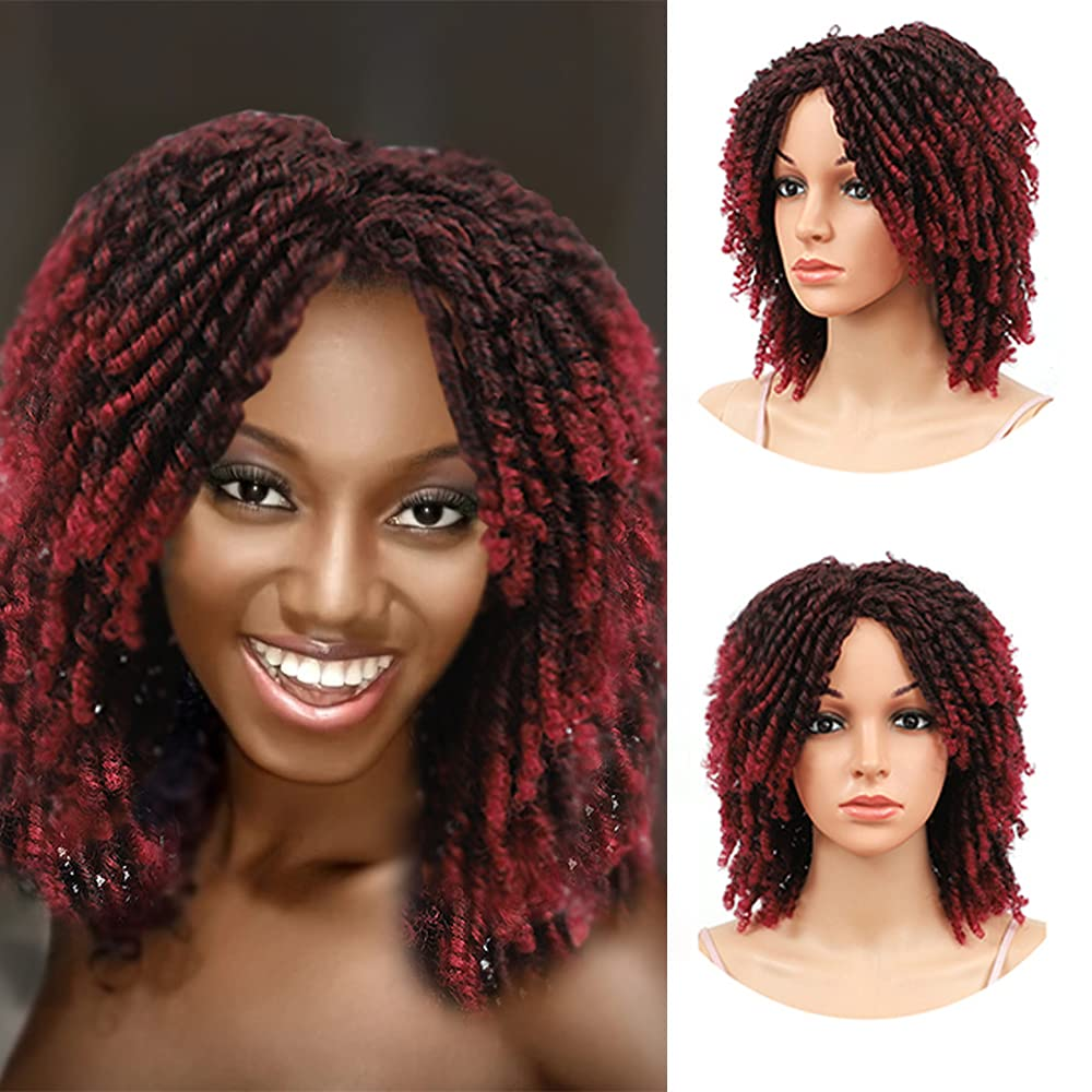 Dreadlock Beauty products Wigs for Black Women Short Curl Afro Wig14 Limited Special Price Twist inch