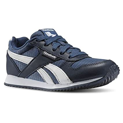 09691ac6990 Reebok - Royal Classic Jogger - Color  Navy Blue-Blue-Silver - Size   13.0US  Amazon.ca  Sports   Outdoors